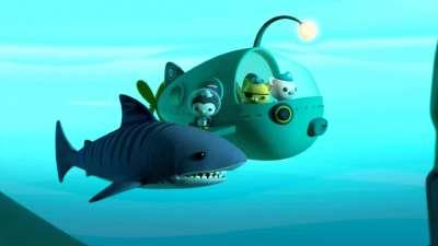 海底小纵队第四季22海底小纵队与虎鲨