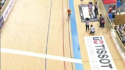 场地车世锦赛前三赛段 全方位点评中国队表现
