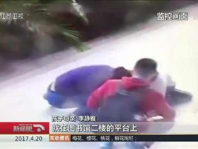 """[视频]湖北武汉:生死救援——女童异物塞喉险窒息 过路""""医生""""出手救命"""