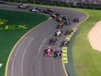 F1澳大利亚站正赛资讯 梅奔一二法拉利留遗憾