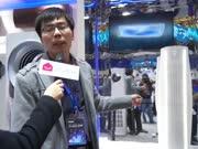 【智享乐居】•AWE专访:海尔冰箱展台