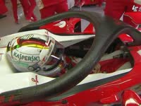 F1英国站FP1 人字拖2.0现身法拉利P房