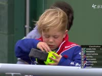 风太喧嚣 F1英国站排位赛Q2花絮:宝宝要被风吹晕了