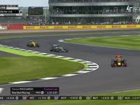 快挥蓝旗!F1英国站正赛:维斯塔潘抱怨前车阻挡