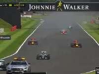 F1英国站正赛(现场声)全场回顾
