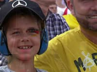 F1德国站排位赛Q2:小车迷为Nico助威