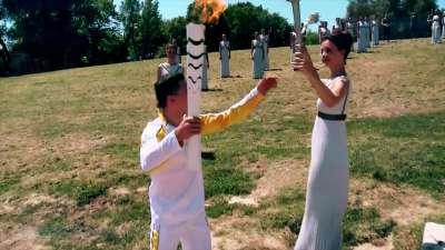 盘点历届奥运会点火仪式 尽显无限创意铸就经典