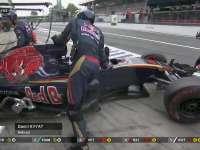 F1意大利站正赛:科维亚特回到维修站退赛