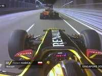 F1新加坡站经典 2010年库比卡超越六车终获第七