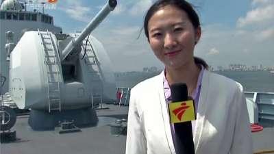 关注中俄联合军演:记者探营——探访昆仑山舰和郑州舰