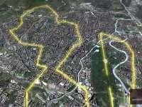 2016柏林马拉松高清路线图 趣味三维特效完美展示