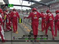 来点不一样!F1日本站正赛:莱科宁又进站啦