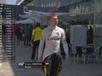 F1巴西站FP1:斯洛特金离开雷诺P房