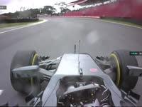 F1巴西站FP3:巴顿赛车故障开回维修区