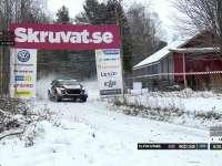 WRC瑞典站SS11:Elfin Evans完成跳坡挑战