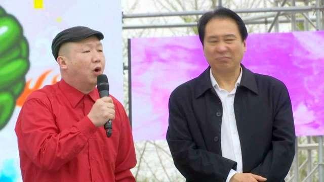 中国·湖南(南县)首届国际涂鸦艺术节暨洞庭湖生态旅游美食文化节开幕式
