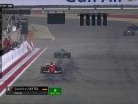 维特尔冲线!巴林成就三冠王 TR兴奋感谢车队