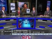 NFL2017选秀大会第24顺位 加里恩-康利(突袭者)