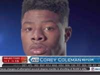 NFL选秀大会第15顺位 科里-科尔曼 (布朗)