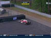 勒芒24小时耐力赛:34号赛车停在缓冲区
