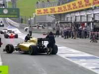 科目二不及格?F1奥地利站FP2 马格努森险些撞墙