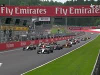 美顿雄起!F1奥地利站正赛发车 巴顿顽强上到第二