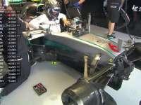 赛车故障!F1英国站FP2 罗斯伯格二练无成绩