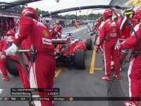 F1德国站正赛:小摄影师观战 Kimi三停换软胎