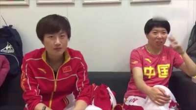 李晓霞为奥运分手欲征婚 福原爱喜事将至