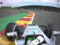 F1比利时站FP2:塞恩斯TR抱怨出弯状况不佳