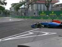 F1新加坡站FP3:维尔莱茵打滑蹭墙尾翼摇摇欲坠