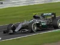 F1日本站排位赛:罗斯伯格九号弯走大啦