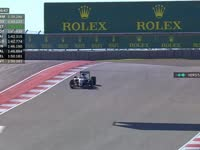 F1美国站FP1 汉密尔顿TR:8档用到头了