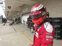 不开心!F1美国站正赛:莱科宁退赛回放