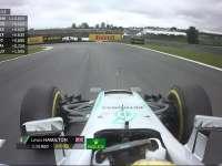 F1巴西站排位赛Q3第一轮冲刺:汉密尔顿领先0.162秒