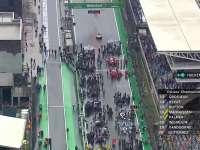 F1巴西站正赛:半小时小雨后雨势将变大
