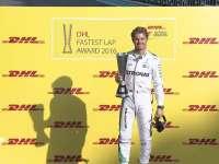 F1阿布扎比站车手巡游 罗斯伯格获DHL最快圈速奖
