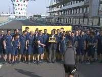 F1阿布扎比站车手巡游 威队获得DHL最快进站时间奖