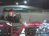 F1阿布扎比站正赛 维特尔超越里卡多上到第四