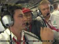 F1阿布扎比站正赛 汉密尔顿无线电略显失望