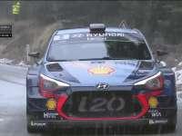 WRC蒙特卡洛站SS17: 诺伊维尔雪中完赛暂列最速