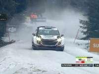 WRC瑞典站SS14:埃文斯进入8分半大关