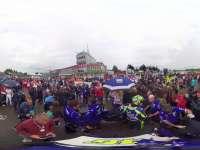 360度全景:MotoGP捷克站发车区罗西备战