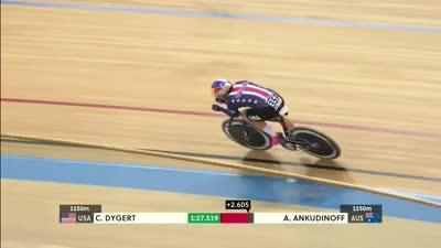 女子个人追逐赛 美国选手戴格特获得金牌