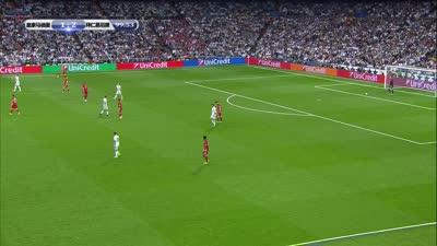 【片段】里贝里强势打门未果 纳瓦斯完美防守为皇马立大功