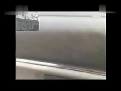 坡道定点停车与起步 倒车入库技巧视频车内视角