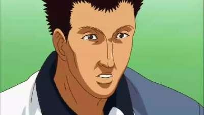 网球王子全国大赛 11 手冢国光(手冢VS桦地)