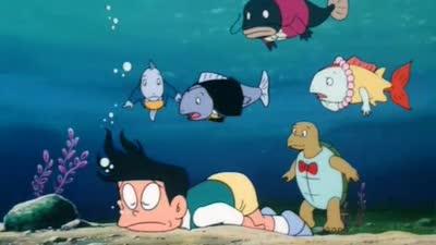 哆啦a梦1990剧场版 大雄与动物行星 国语