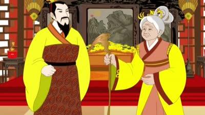 汉文帝亲尝汤药