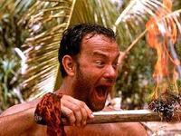《荒岛余生》片段:汤姆·汉克斯冰刀拔牙!看着真揪心啊!